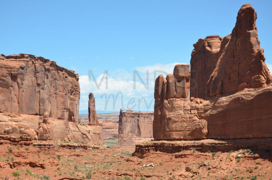Falaise Arches National Park